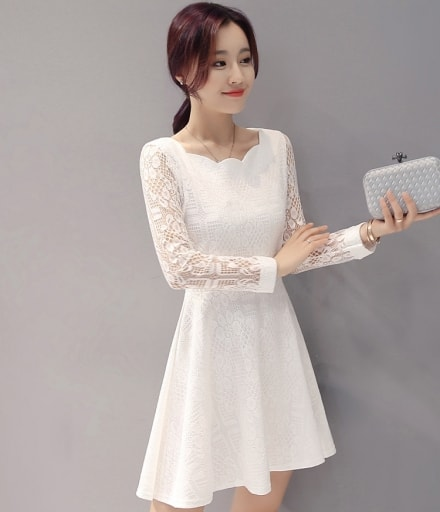 Baju Dress Korea Murah Gaun Wanita Dress Import Dress Murah Tamochi