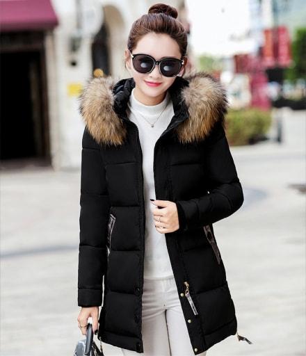 Premium Jacket Winter Import JC975 Black d24ffd3548