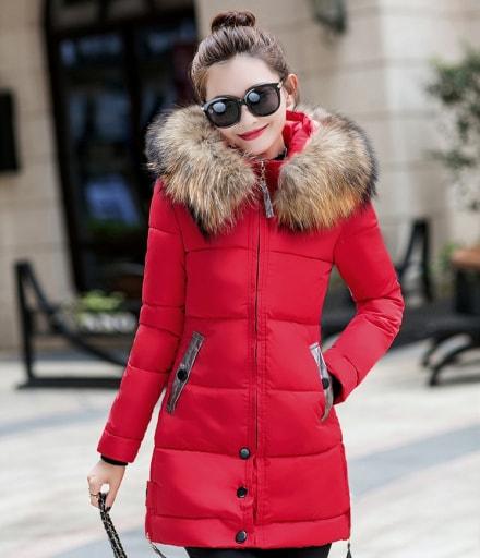 Premium Jacket Winter Import JC976 Red edb2773bce