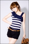 Blouse BL644-Blue