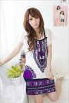 Dress DS848-Purple