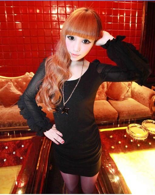 Dress ds black tamochi