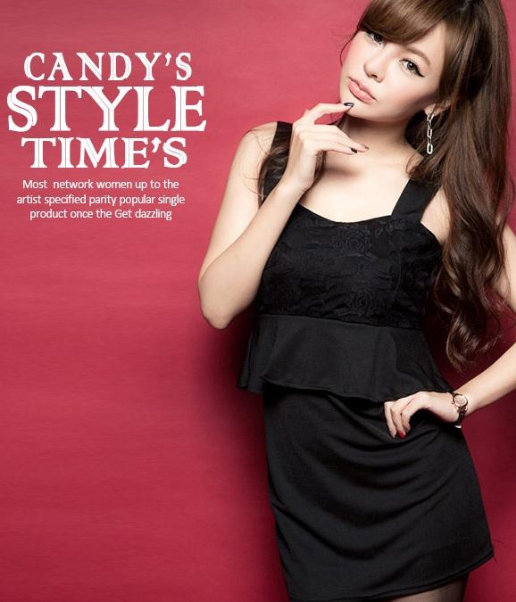 Silk dress ds black tamochi