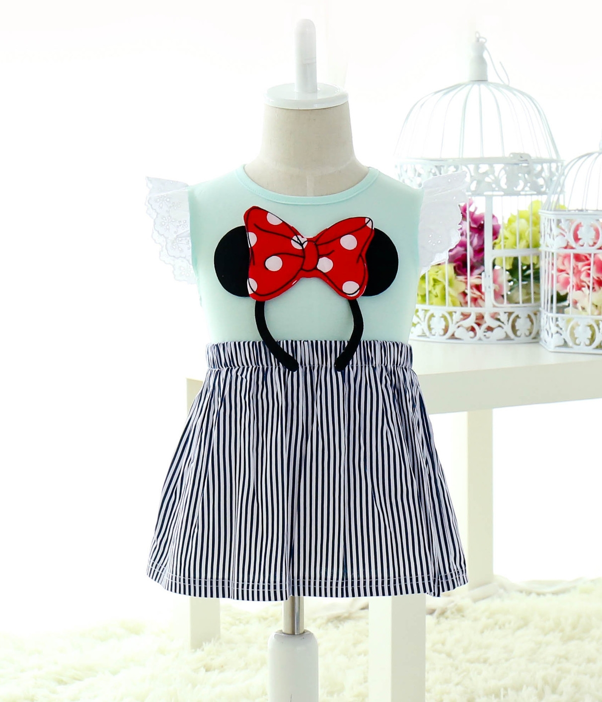 Premium kids dress import kd tosca tamochi
