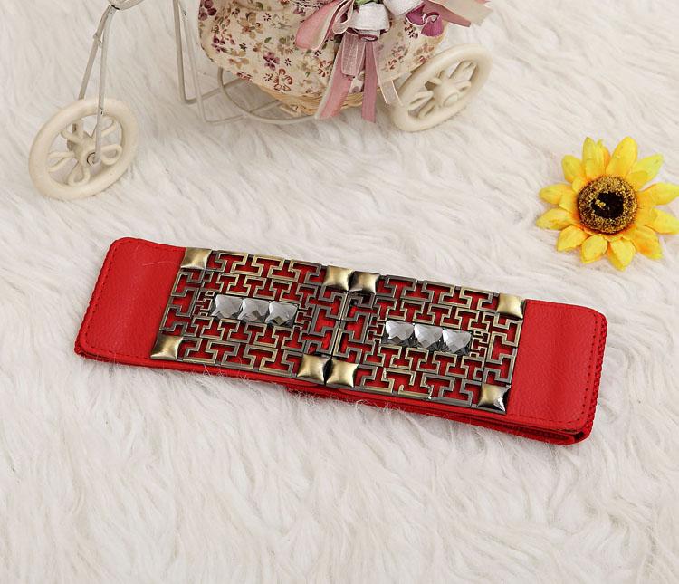 Fashion belt lt red tamochi